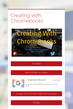 Creating With Chromebooks