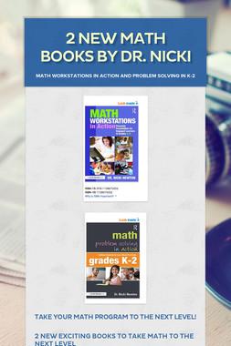 2 New Math Books by Dr. Nicki