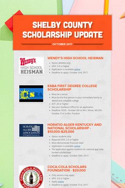 Shelby County Scholarship Update