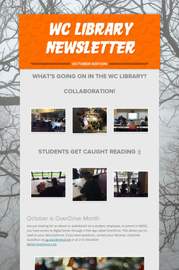 WC Library Newsletter