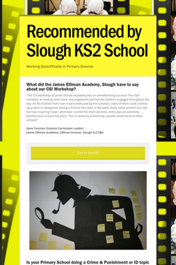 Recommended by Slough KS2 School