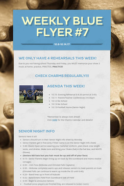 Weekly Blue Flyer #7