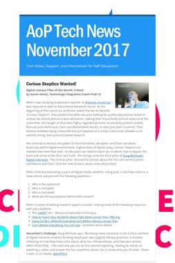 AoP Tech News November 2017