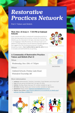 Restorative Practices Network