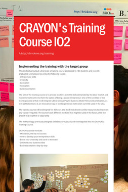 CRAYON's Training Course  IO2