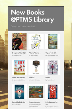 New Books @PTMS Library