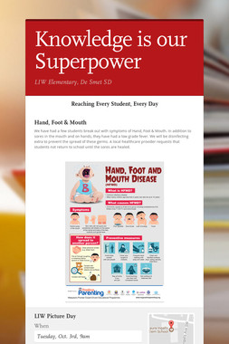 Knowledge is our Superpower