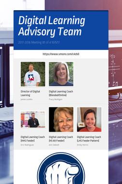 Digital Learning Advisory Team