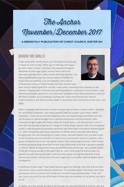 The Anchor November/December 2017