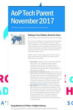 AoP Tech Parent November 2017