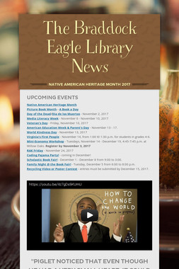 The Braddock Eagle Library News