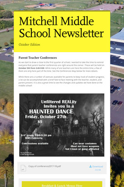 Mitchell Middle School Newsletter