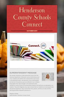 Henderson County Schools Connect