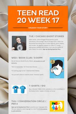 Teen Read 20 Week 17