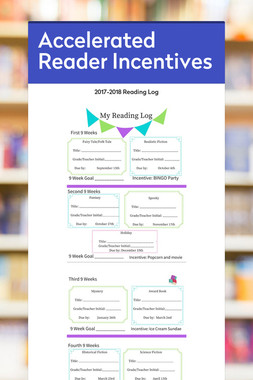 Accelerated Reader Incentives