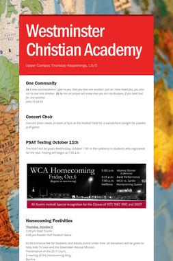 Westminster Christian Academy