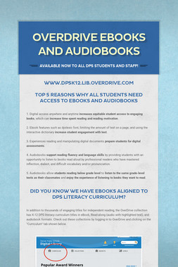 OverDrive Ebooks and Audiobooks