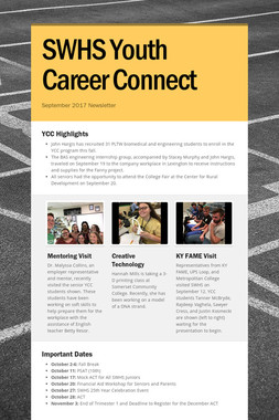 SWHS Youth Career Connect