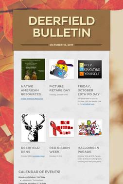 Deerfield Bulletin