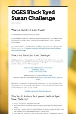 OGES Black Eyed Susan Challenge