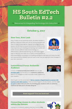 HS South EdTech Bulletin #2.2