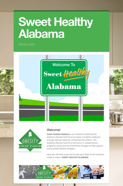 Sweet Healthy Alabama