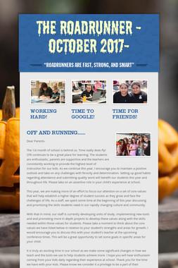 The Roadrunner -October 2017-