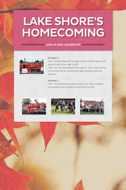 Lake Shore's Homecoming