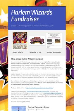 Harlem Wizards Fundraiser
