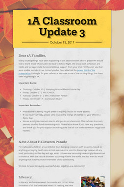 1A Classroom Update 3