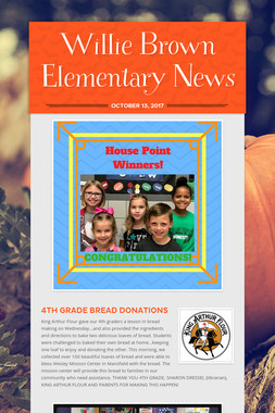 Willie Brown Elementary News