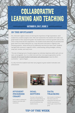 Collaborative Learning and Teaching