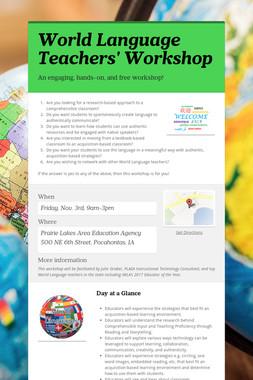 World Language Teachers' Workshop