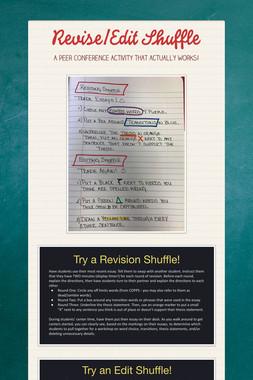 Revise/Edit Shuffle