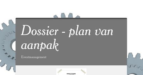 carrieretijger plan van aanpak Dossier   plan van aanpak carrieretijger plan van aanpak