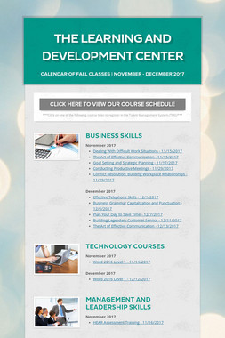 The Learning and Development Center
