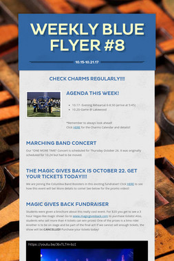 Weekly Blue Flyer #8
