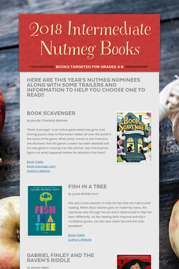 2018 Intermediate Nutmeg Books
