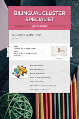 Bilingual Cluster Specialist