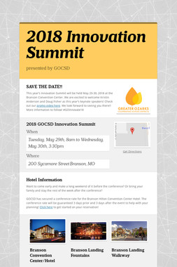 2018 Innovation Summit