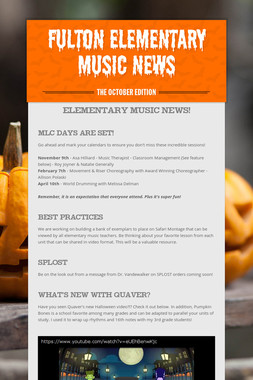 Fulton Elementary Music News