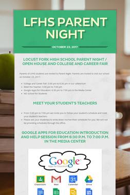 LFHS Parent Night
