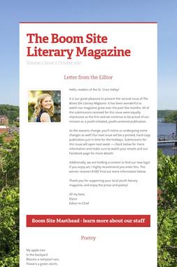 The Boom Site Literary Magazine