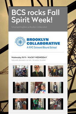 BCS rocks Fall Spirit Week!