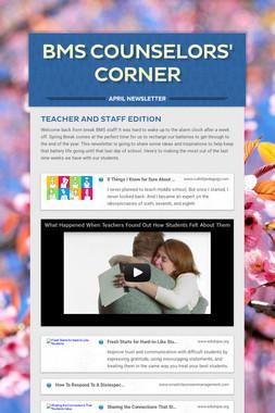 BMS Counselors' Corner