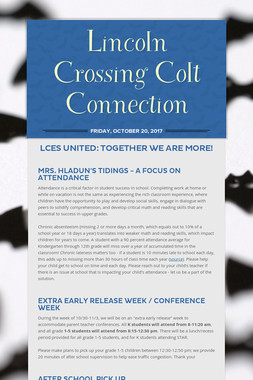 Lincoln Crossing Colt Connection