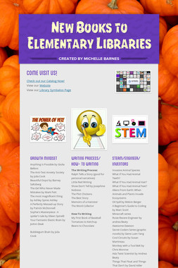 New Books to Elementary Libraries
