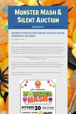 Monster Mash & Silent Auction