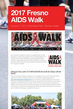 2017 Fresno AIDS Walk