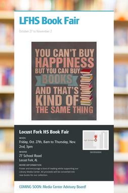 LFHS Book Fair